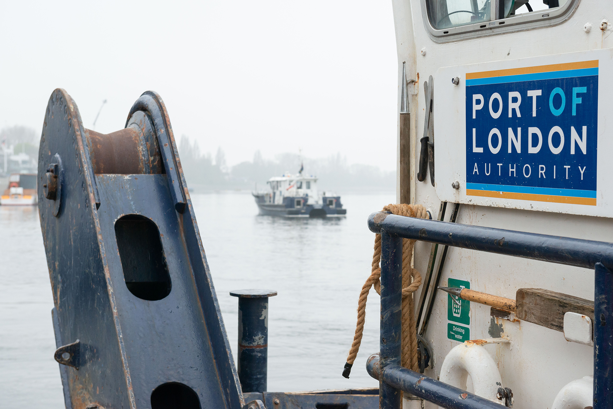 Port of London Authority to more than halve emissions by 2025