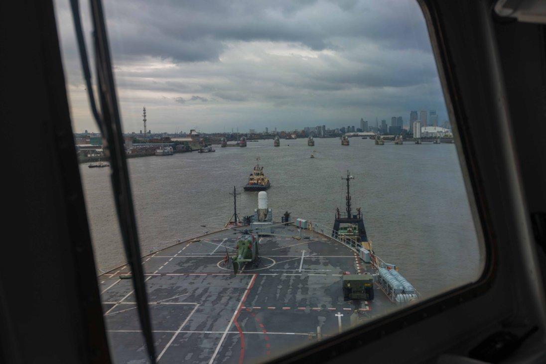 Thames Barrier Operation Scheme