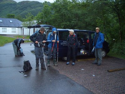 Preparing for Ben Nevis