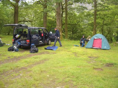 Lake District camp