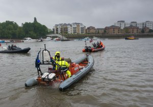 The PLA will operate 'gatekeeper' patrols at Richmond and Gravesend